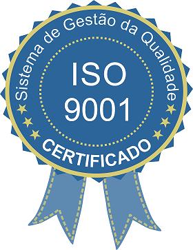 selo ISO de certificação