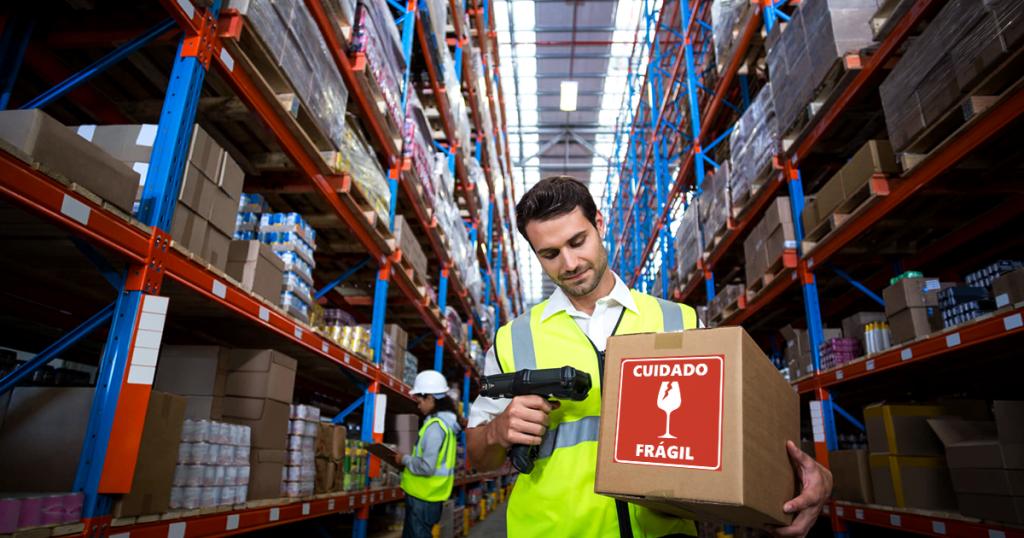 Automação da armazenagem de produtos