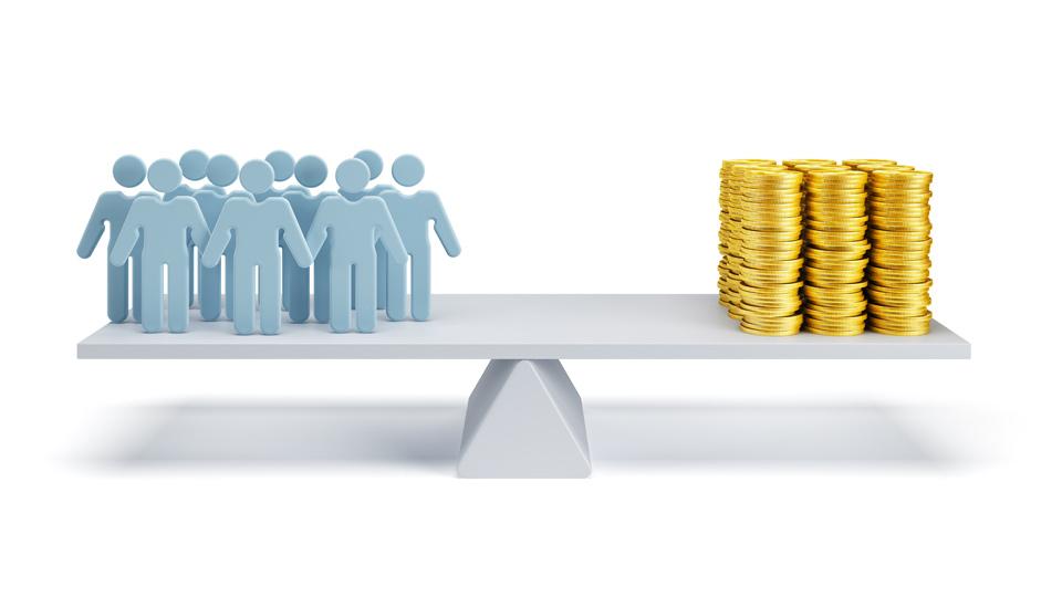 O custo de mão de obra é um custo importante no custo de produção.