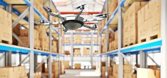 uso de drones na automação da armazengem para redução dos custos de armazenagem